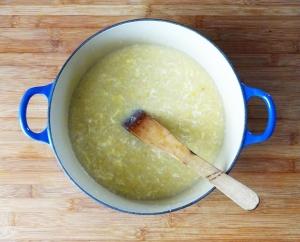 The inspiring pot of soup