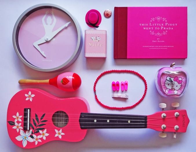 Pink. Pink. Pink.