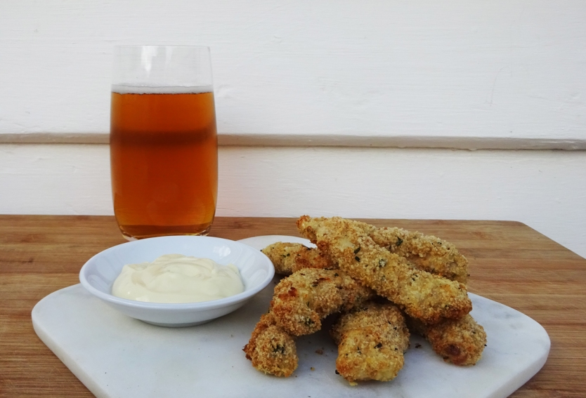 w_crispy chicken with beer